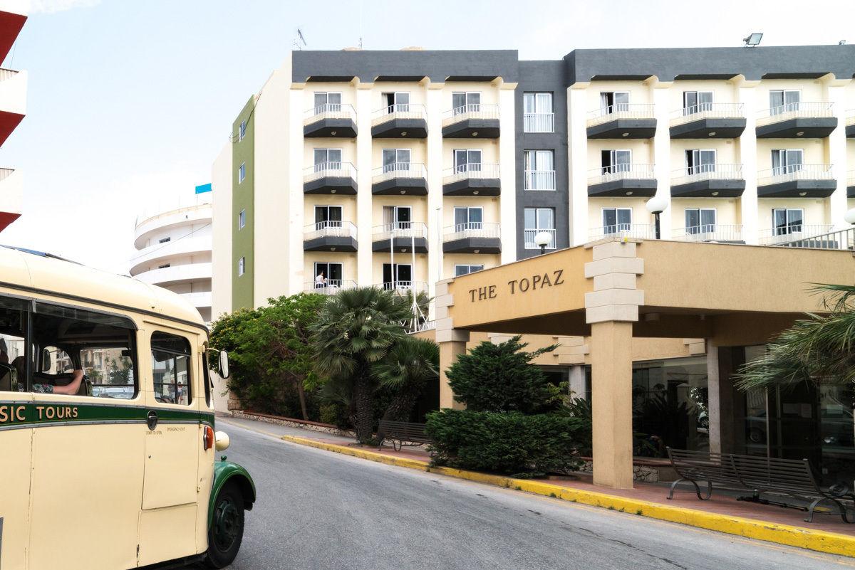 Topaz hotel hotel in malta st pauls bay for Hotels malte